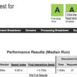 Test velocidad sobre Factoria Digital Webpagetest