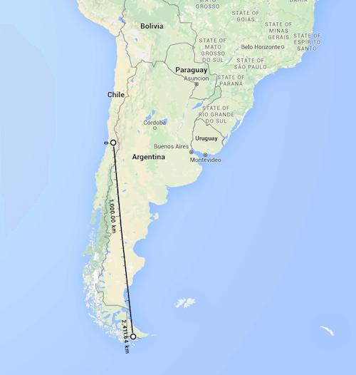 santiago-chile-distancia