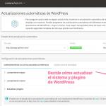 Autoactualización de plugins con SiteGropund