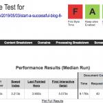 Test de velocidad sobre Hostinger el 2019 hecho con WebPateTest