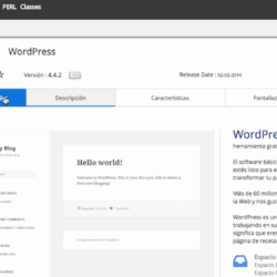 Nominalia, instalando WordPress