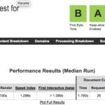 Prueba de velocidad a nominalia con Webpagetest