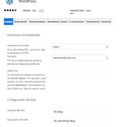 SiteGround, instalando WordPress
