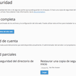Crea copias de seguridad con Host Europe