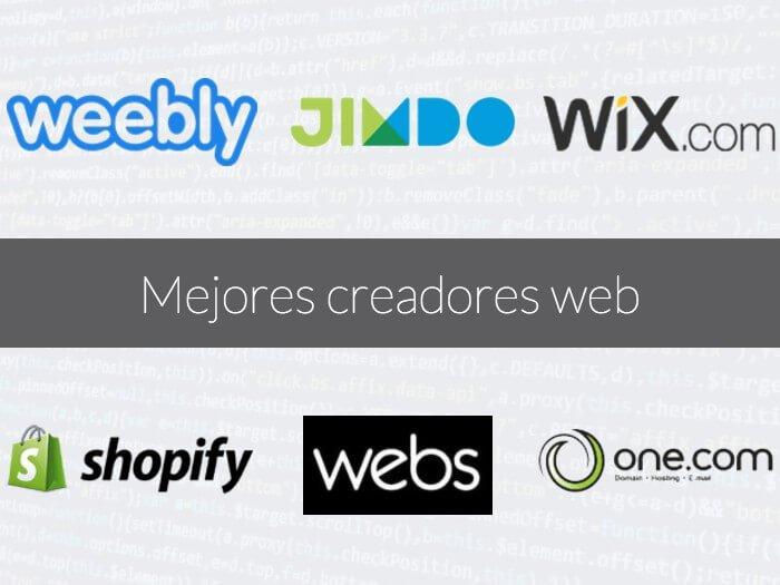 Mejoresprogramasparacrearpáginasweb:Weebly,Jimdo,Wix,Shopify,&yWebs