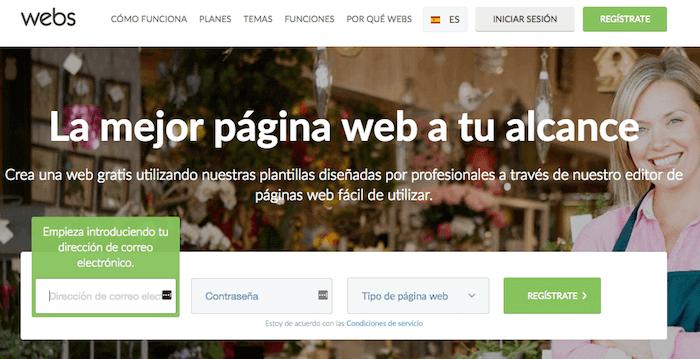 Opiniones de Webs.com