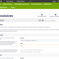 GoDaddy - Instalación de WordPress