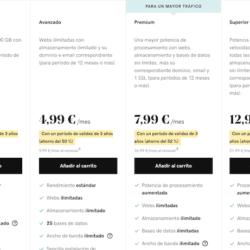 Precios de GoDaddy de hosting compartido