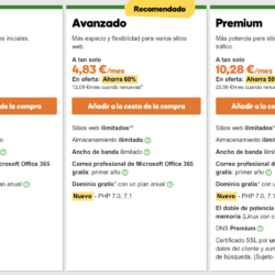 GoDaddy Precioshostingcompartido