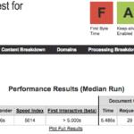 GoDaddy test de velocidad con Webpagetest