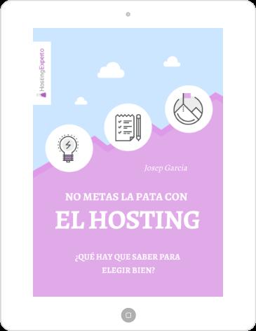 Portada del ebook de HostingExperto sobre hosting
