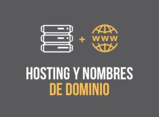 Proveedores de hosting y nombre de dominio