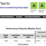Test de velocidad en el 2019 sobre Bluehost con Webpagetest