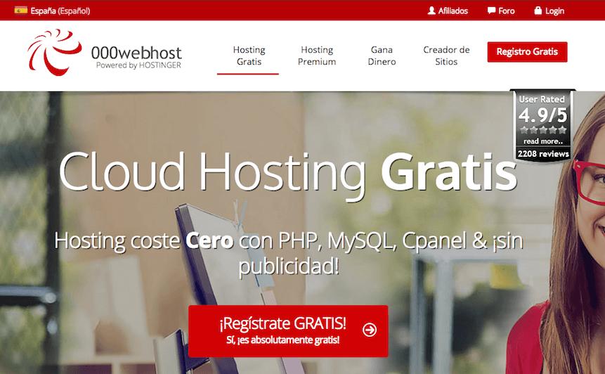 000webhost alijamiento web gratis