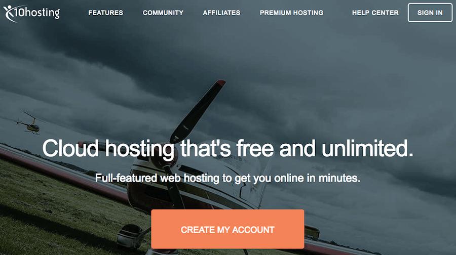 10 hosting gratuito