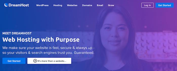 DreamHost es un buen hosting
