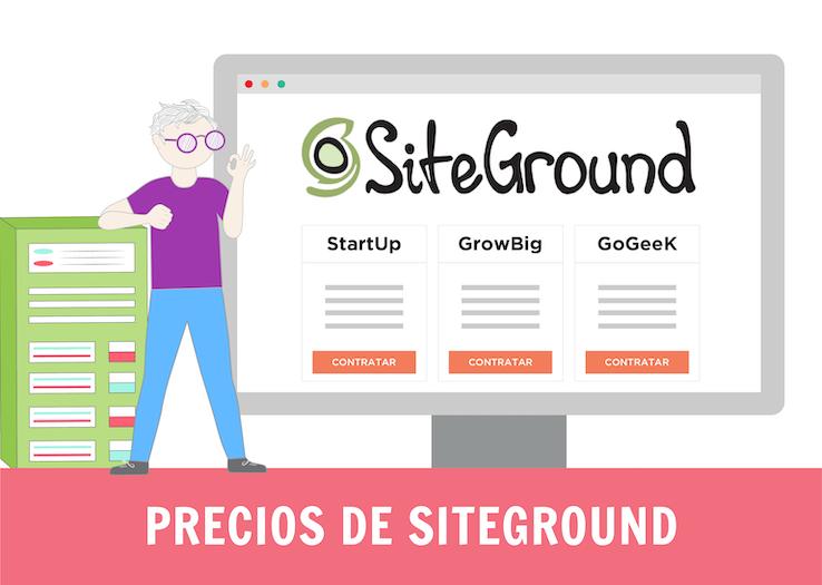 precios de Siteground
