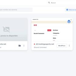 DreamHost administracion de sitios